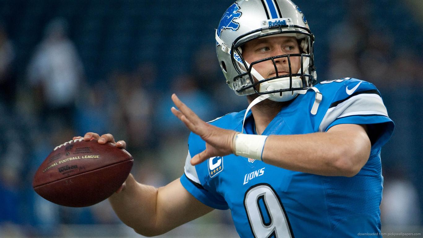 NFL Lions Matthew Stafford